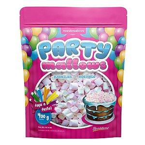 Mini Marshmallow Party Mallows - Baunilha e Morango - 01 Unidade - Florestal - Rizzo Embalagens