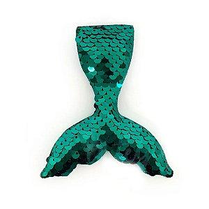 Aplique Sereia Paetê Tiffany - 10cm - 1 Un - Artegift - Rizzo