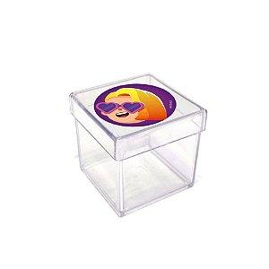 Caixinha Acrílica Lembrancinha Festa PK XD - 5cm x 5cm 20 unidades - Rizzo Embalagens