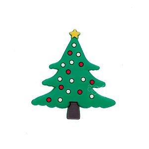 Aplique Árvore Natal Silicone - 3,5cm - 4 Un - Artegift - Rizzo