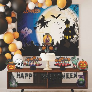 Kit Festa Fácil Halloween - 39 Itens - 01 Unidade - Piffer - Rizzo Embalagens