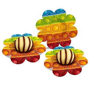 Forminha Sweet B Festa Pop It - 30 Unidades - Piffer - Rizzo Embalagens