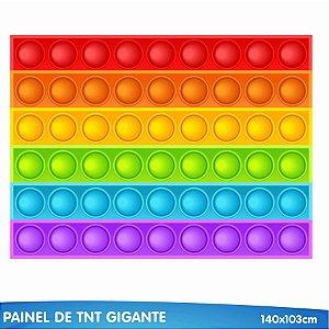 Painel TNT Festa Pop It - 140cm x 103cm- 01 Unidade - Piffer - Rizzo Embalagens