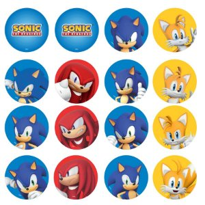 Faixa Impressa Festa Sonic - 01 Unidade - Piffer - Rizzo Embalagens