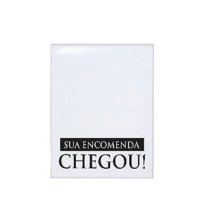Envelope de Segurança Sua Encomenda Chegou! Branco - 10 Unidades - Cromus - Rizzo Embalagens