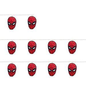 Cordão 10 Leds Homem Aranha Vermelho e Preto 165cm 2AA - 01 Unidade - Cromus - Rizzo Embalagens