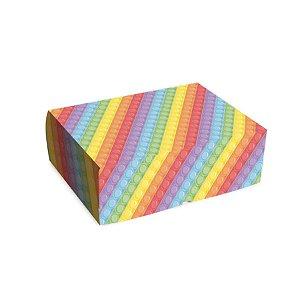 Cesta na Caixa Festa Fidget Toys 33x23x10cm 01 Unidade - Cromus - Rizzo Embalagens