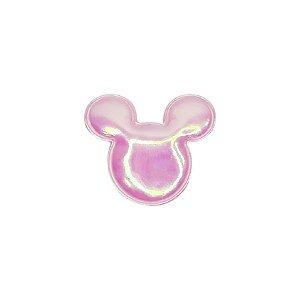 Aplique Urso Nacarado Rosa - 5cm - 2 Un - Artegift - Rizzo