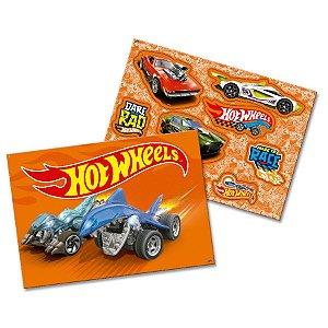 Kit Decorativo Festa Hot Wheels - 1 Unidade - Festcolor - Rizzo Embalagens