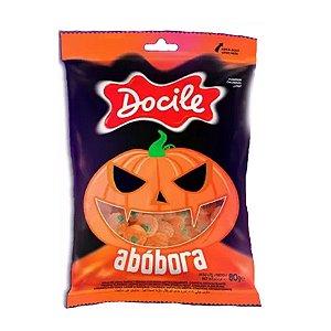 Bala de Goma Halloween Abóbora - 80g - 1 Un - Docile - Rizzo