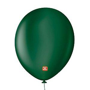 """Balão Profissional Premium Uniq 11"""" 28cm - Verde Salvia - 15 unidades - Balões São Roque - Rizzo Embalagens"""