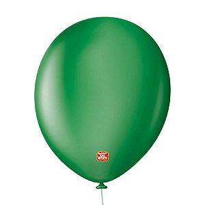 """Balão Profissional Premium Uniq 11"""" 28cm - Verde Grama - 15 unidades - Balões São Roque - Rizzo Embalagens"""