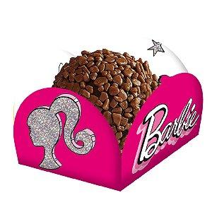 Porta Forminha Festa Barbie - 40 Unidades - Festcolor - Rizzo Embalagens