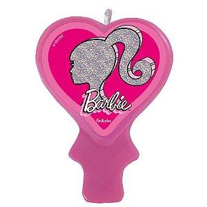 Vela Festa Barbie - 1 Unidade - Festcolor - Rizzo Embalagens