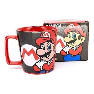 Caneca Super Mario World - 400ml - Nintendo Original - 1 Un - Rizzo