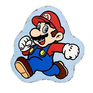 Almofada Formato Super Mario - 30cm - Nintendo Original - Zona Criativa - 1 Un - Rizzo