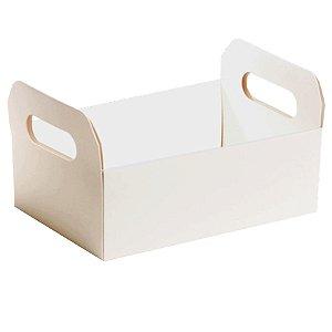Caixote de Cartão Branco - 01 Unidade Cromus - Rizzo Embalagens