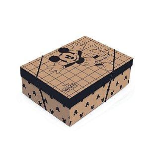 Caixa para Presente com Tampa - Mickey Kraft - 01 unidade - Cromus - Rizzo Embalagens
