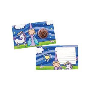 Cartão Blister Princesa - 10 UN - Erika Melkot - Rizzo