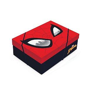 Caixa para Presente com Tampa - Spider Man - 01 unidade - Cromus - Rizzo Embalagens