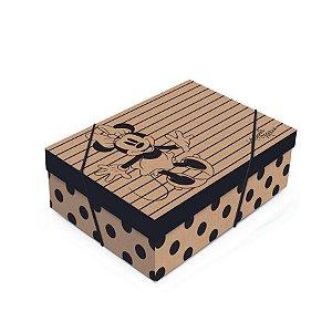 Caixa para Presente com Tampa  - Minnie Kraft - 01 unidade - Cromus - Rizzo Embalagens