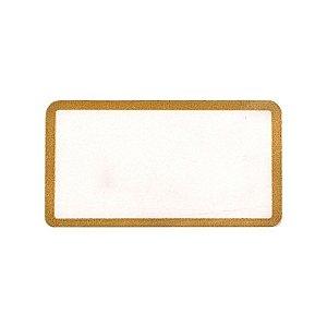 Etiqueta Adesiva para Preço lisa - 100 un. Rizzo Embalagens