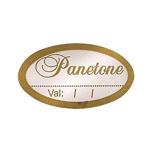 Etiqueta Adesiva - PANETONE validade - com 100 un. Rizzo Embalagens