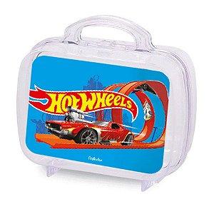 Maleta Acrílica para Lembrancinha Transparente  Festa Hot Wheels - 6 Unidades - Rizzo Embalagens