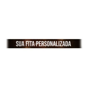 Fita de Cetim Personalizada CFS002 - 10mm X 45metros - Marrom Café 340 - 01 Unidade - Progresso - Rizzo