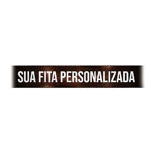 Fita de Cetim Personalizada CFS005 - 22mm X 45metros - Marrom Café 340 - 01 Unidade - Progresso - Rizzo