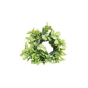 Enfeite de Natal Mini Guirlanda Verde Claro 01 Unidade Cromus Rizzo Embalagens