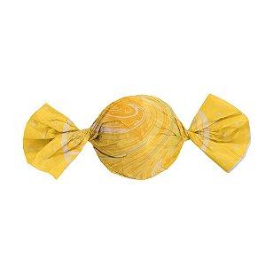 Folha Trufa Mármore Amarelo 14,5x15,5 - 100 unidades - Cromus - Rizzo