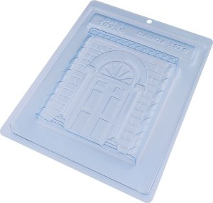 Forma de Acetato Forma Especial - Tablete Porta De Natal 10236 - 01 Unidade - BWB - Rizzo