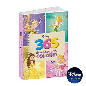 Livro 365 Desenhos Para Colorir Disney Princesas E Fadas - 01 Unidade - Culturama - Rizzo