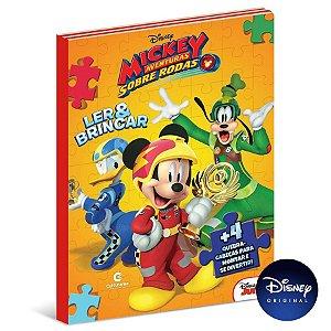 Livro Para Ler e Brincar Mickey - 01 Unidade - Culturama - Rizzo