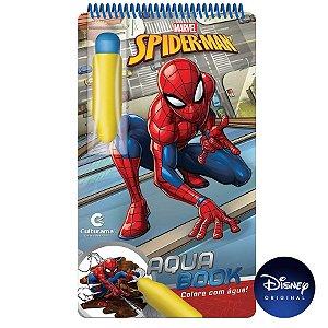 Livro Aqua Book Homem-Aranha - 01 Unidade - Culturama - Rizzo