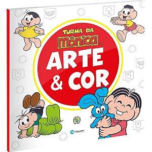 Livro Arte E Cor Turma Da Monica - 01 Unidade - Culturama - Rizzo
