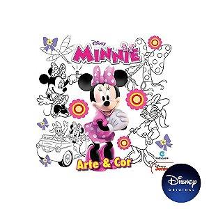 Livro Arte E Cor Disney Minnie - 01 Unidade - Culturama - Rizzo