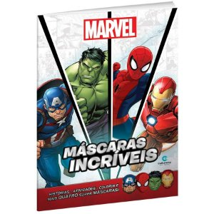 Livro Mascaras Incriveis Marvel - 01 Unidade - Culturama - Rizzo