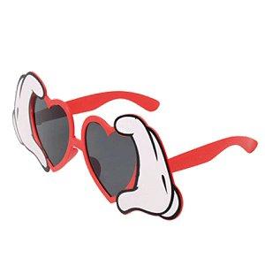 Óculos Coração Festa Carnaval 01 Unidade Cromus Rizzo Embalagens