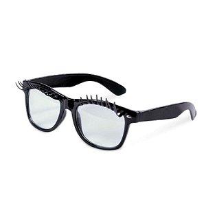 Óculos Preto com Círios Festa Carnaval 01 Unidade Cromus Rizzo Embalagens