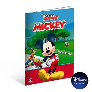 Livro Gigante Para Ler e Colorir Mickey - 01 Unidade - Culturama - Rizzo