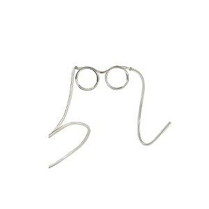 Óculos Canudo Transparente Festa Carnaval 01 Unidade Cromus Rizzo Embalagens