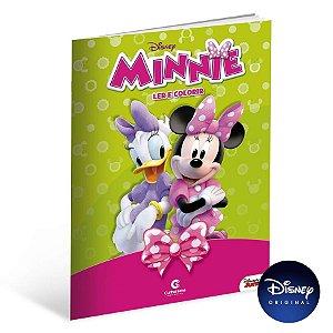 Livro Gigante Para Ler e Colorir Minnie - 01 Unidade - Culturama - Rizzo