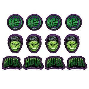 Aplique Decorativo Hulk - 12 PÇs - 1 UN - Piffer - Rizzo