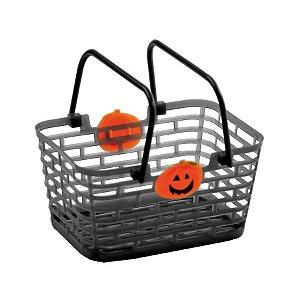 Cesta com Aplique Preta Halloween Cromus Rizzo