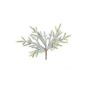 Enfeite de Natal Pick Folhas - Verde - 1 UN - Cromus - Rizzo