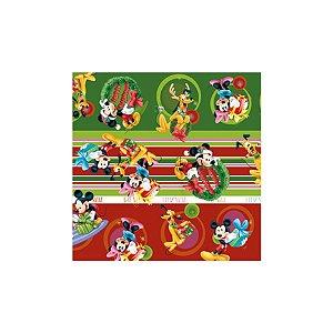 Saco P/ Presente - 15x22cm - Natal Disney - 100 UN - Cromus - Rizzo