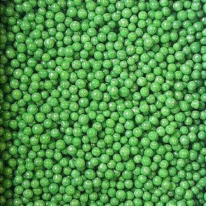 Confeito Pérolas - Verde - 60g - 1 UN - Morello - Rizzo