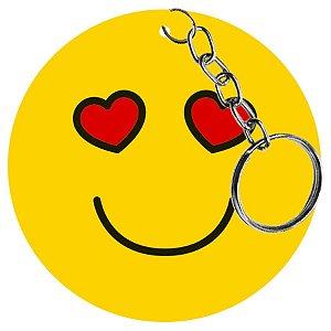 Chaveiro Lembrancinha - Emoji Apaixonado - 1 UN - LitoArte - Rizzo